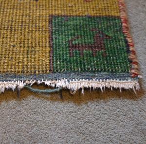 rug underside