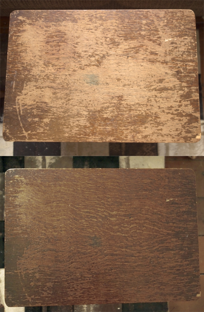 sewing box before after